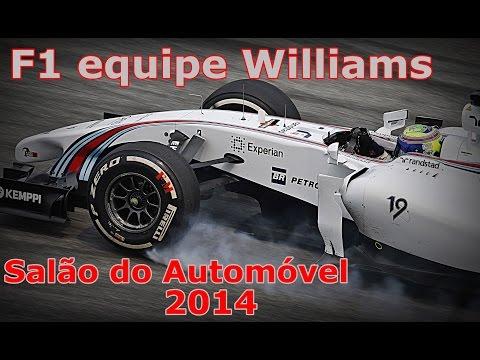 Carro da Williams de F1 - SALÃO DO AUTOMÓVEL 2014