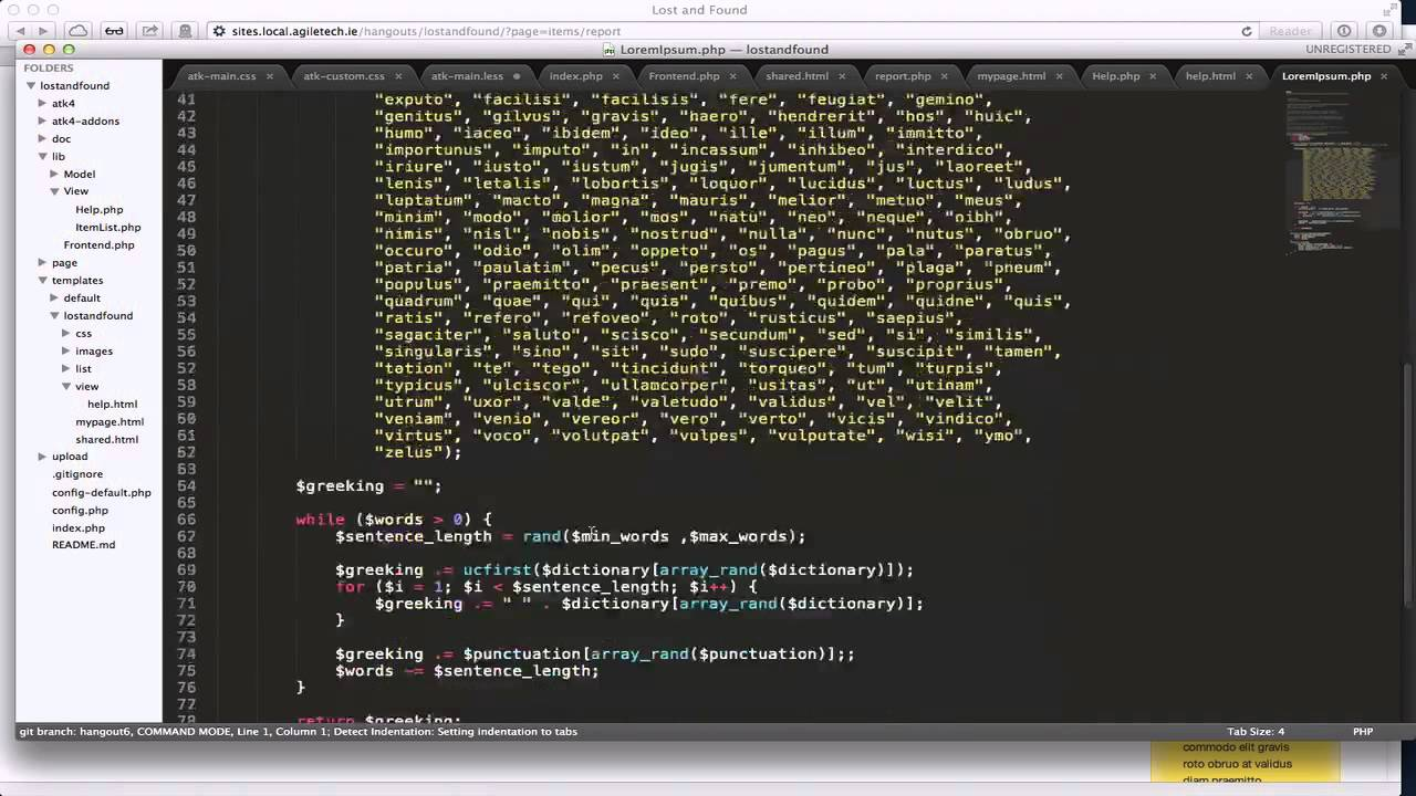 5. CSS Framework, jQuery UI Themeroller and HTML templates of Agile ...