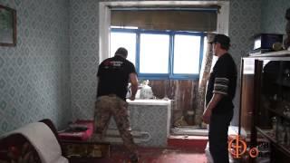 видео Демонтаж балконного блока