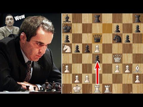 Garry Kasparov's Immortal Game