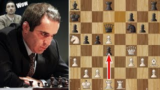 Garry Kasparov's Immortal Game
