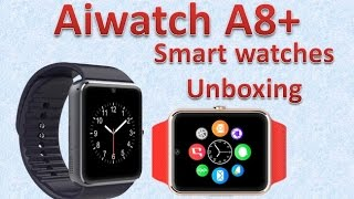 Aiwatch A8+ Smart watches SIM Intelligent mobile phone watch dhgate.com