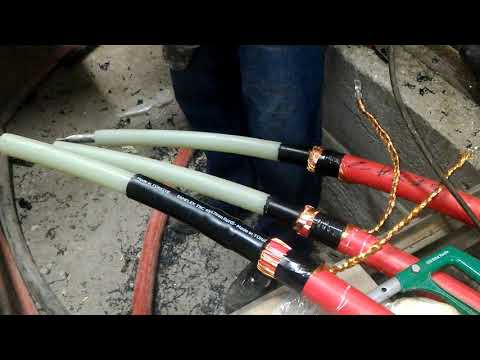 Orta gerilim kablo başlığı yapımı