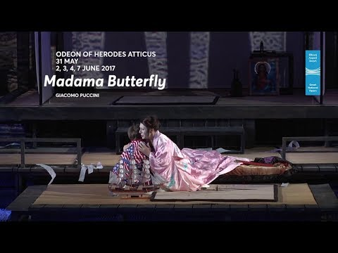 Madama Butterfly by G. Puccini @Odeon Of Herodes Atticus 2017 TV SPOT