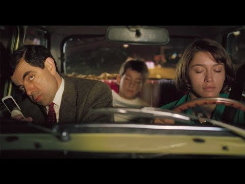 Mr. Bean's Holiday: Sabine Falls Asleep And Drowsy Driving