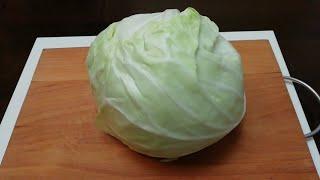 Быстрый Сочный салат из капусты Рецепты салатов Салаты