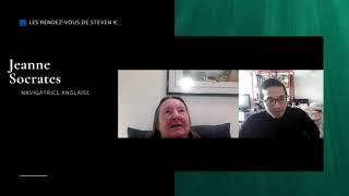 Réaliser le tour du monde à 77 ans?JEANNE SOCRATES: « Il est important de toujours essayer…»