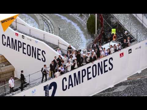 Madrid Celebrates  Real Madrid's Champions League Victory