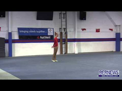 Faroe Islands Gymnasts Floor Routine, July 16 2013