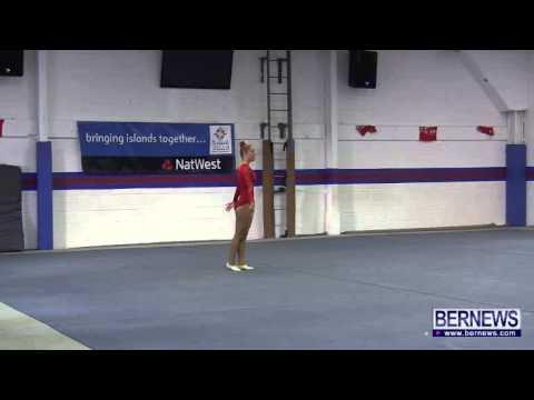 Faroe Islands Gymnasts Floor Routine, July 16 2013