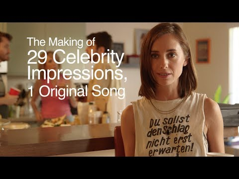 """The Making of """"29 Celebrity Impressions, 1 Original Song"""""""