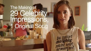 "The Making of ""29 Celebrity Impressions, 1 Original Song"""