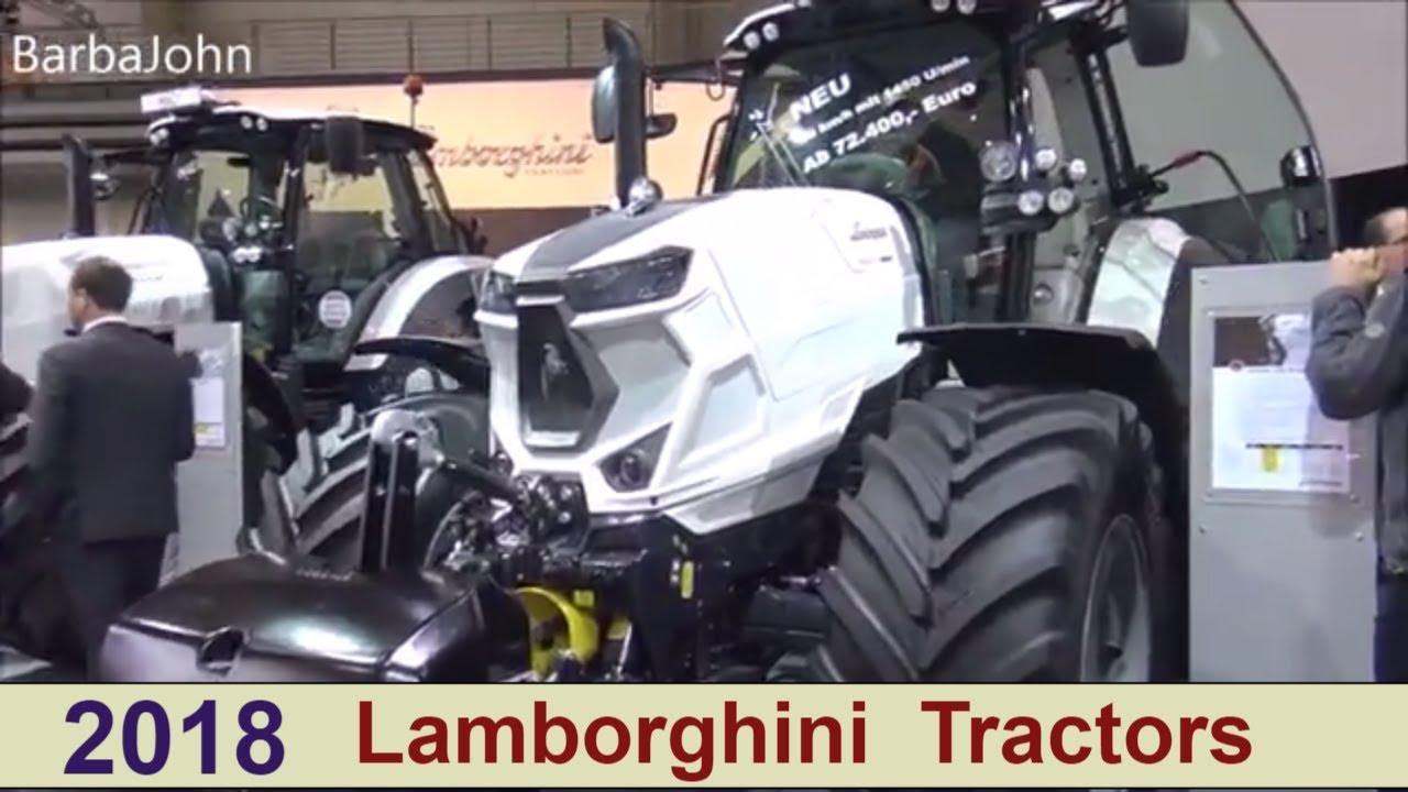 Außergewöhnlich The Lamborghini Tractors 2018 - YouTube #WJ_96