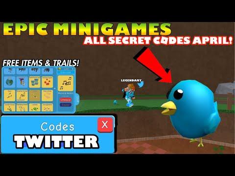 Epic Minigames All New Codes April 2020 Secret Codes Roblox