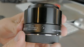 Sigma 19mm F2.8 DN Art Lens - Unboxing and First Impressions