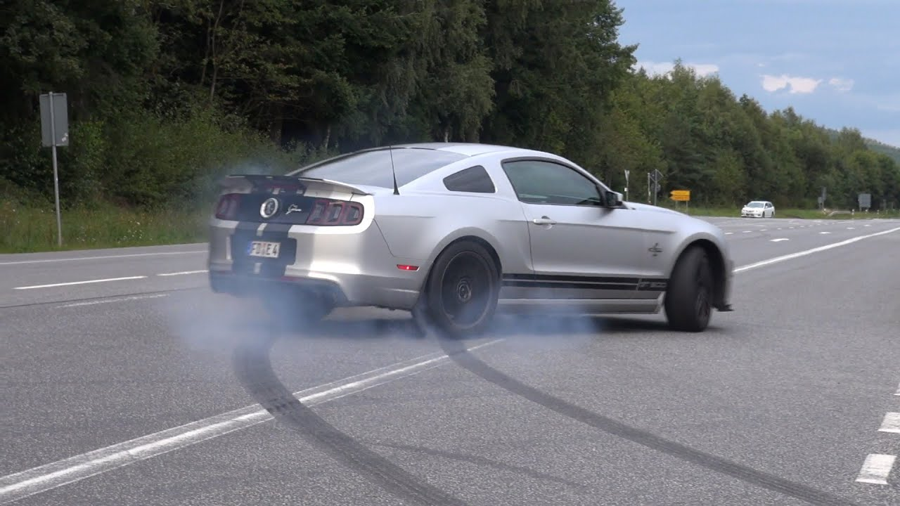 662HP Ford Shelby Mustang GT500 SVT Burnout fail  YouTube