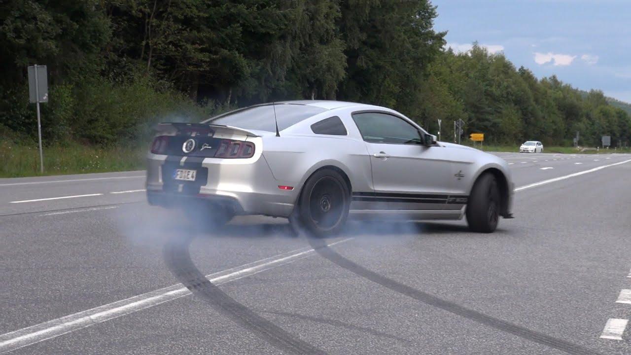 & 662HP Ford Shelby Mustang GT500 SVT Burnout fail! - YouTube markmcfarlin.com