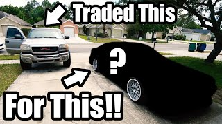 homepage tile video photo for Traded My DURAMAX For A JDM RHD Imported Turbo 4-Door!