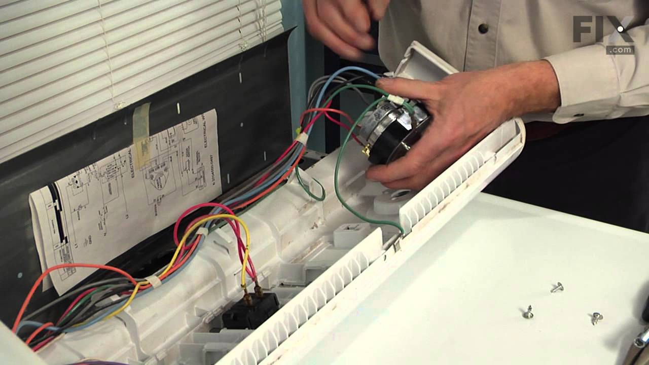 Maytag Dryer Repair How To Replace The Timer Youtube Diagram