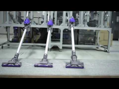 Built To Last: Dyson Vacuums Factory Testing