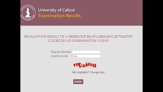 Calicut University Results 2019 घोषित यहाँ देखे