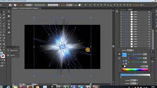 создание анимации светового эффекта прямо в иллюстраторе. Тест. Light Effect