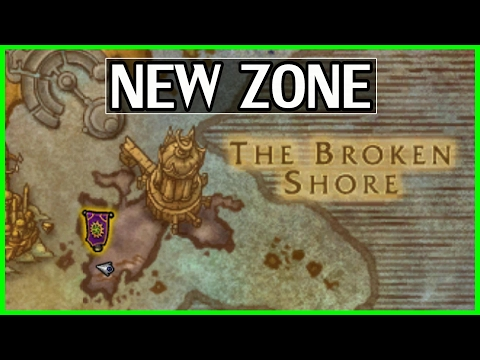 New Zone Broken Shore - Preview & Guide - How to Unlock 7.2 WoW Legion