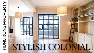 STYLISH RENOVATED COLONIAL APARTMENT WITH HUGE BALCONY   | Hong Kong