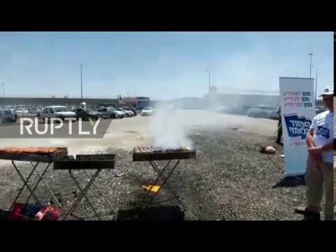 State of Palestine: Israelis use BBQ'ed meat to goad Palestinian prisoners on hunger strike