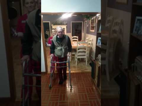 Gait training for Parkinsons's patient using music