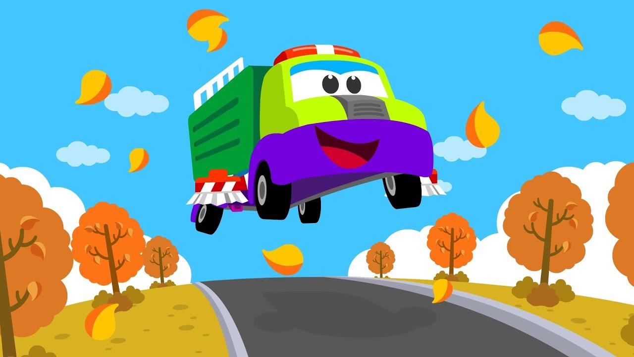 신나는 청소트럭 | 쓱싹쓱싹 청소트럭 출동~! | 자동차동요 | 인기동요 | 트럭 | 티디키즈★지니키즈