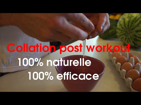 MUSCULATION: Collation post workout naturelle et efficace