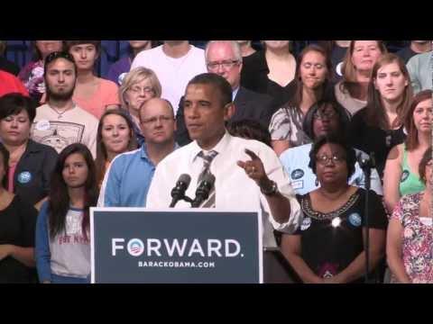Barack Obama CEDAR RAPIDS, IOWA GRASSROOTS EVENT video by Jerry Schmidt