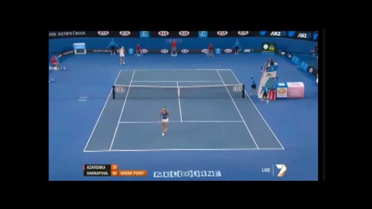 Tennis Match Moaning