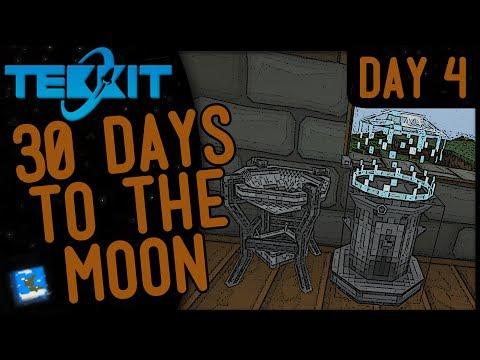 Tekkit: 30 Days To The Moon - Day 4