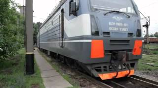 Электровоз ВЛ11 М6 в работе(Подробнее о ВЛ11: http://infratrans.net/catalog/railroad/locomotives/elektrovozy/elektrovoz-vl11/ Автор видео: http://www.youtube.com/user/tdevm., 2012-05-01T14:07:55.000Z)