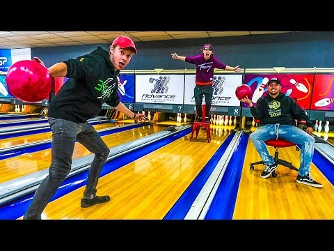 OVERNIGHT AT BOWLING ALLEY! (DO NOT TRY THIS! Alarms Go Off!)