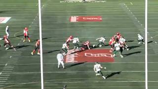 Paul Swiston highlight tape. University of Calgary Dinos football. 2011 Draft Eligible.