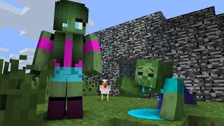 Zombie Life 1 - Minecraft Animation