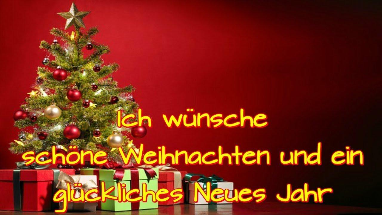 Weihnachten Grüße Wünsche.Ich Wünsche Schöne Weihnachten Und Ein Glükliches Neues Jahr Silvester Schön Feiern