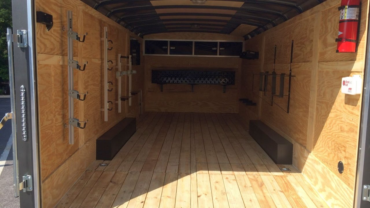 Sure Trac 8.5x20 Ultimate Landscaping Enclosed Cargo Trailer Brickman  Landscape Pro STRLP - YouTube - Sure Trac 8.5x20 Ultimate Landscaping Enclosed Cargo Trailer