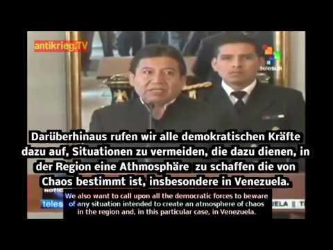 Venezuela: Solidarität von Argentinien und Bolivien mit Präsident Maduro 16.2.14