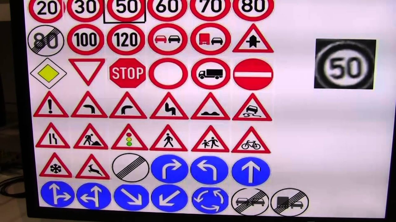 Cadence Demonstration Of Traffic Sign Recognition Youtube