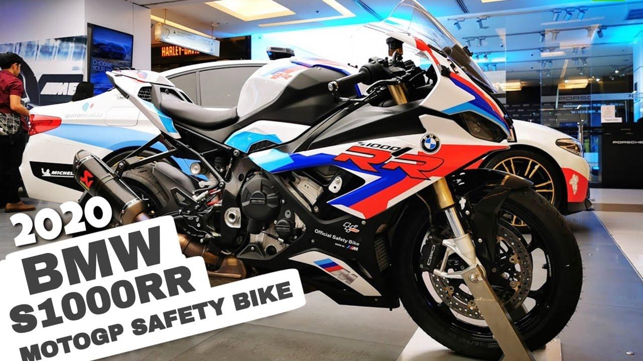 2020 Bmw S1000rr Motogp Safety Bike First Look In Gp Thailand Youtube