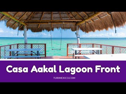 Casa Aakal Lagoon Front en Bacalar