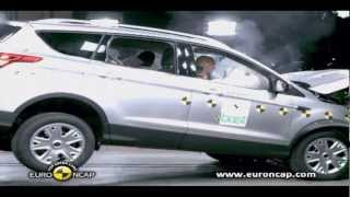 2013 NEW Ford Kuga Crash Test 2012 - Euro Ncap(If you like this video Please rate and comment! ▻Google +: https://plus.google.com/101792401712738693835/ ▻Facebook: http://facebook.com/gommeblog ..., 2012-11-29T02:53:14.000Z)