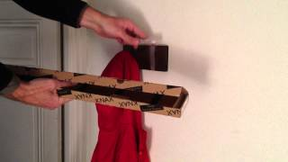 Unboxing Knax Coat Hooks Wall Mounted And Demo Of Funktion