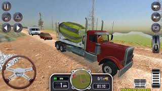 Construction Sim 2018 - New Cement Truck Unlocked Android Gameplay