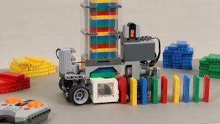 Making a LEGO Domino Machine