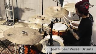 Joel Piper w/ T-Cymbals & Vessel Drums